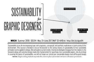 Sign up for this MICA Summer 2010 class!